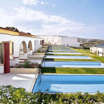 Villa's met privezwembad van The Kresten Royal Villas & Spa in Kalithea, Rhodos