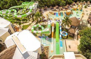 Waterpark van Sandos Caracol Eco Resort in Playa del Carmen, Mexico