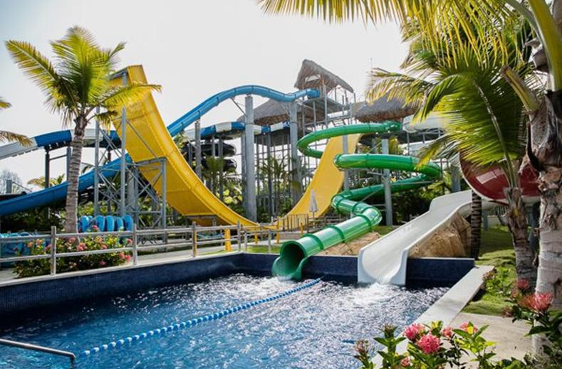 Waterpark van SPLASHWORLD Memories Splash Punta Cana in Punta Cana, Dominicaanse Republiek