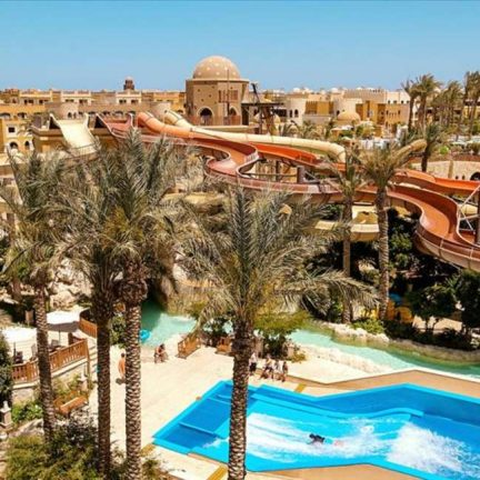 Waterpark van Sunwing Waterworld Makadi in Hurghada, Egypte