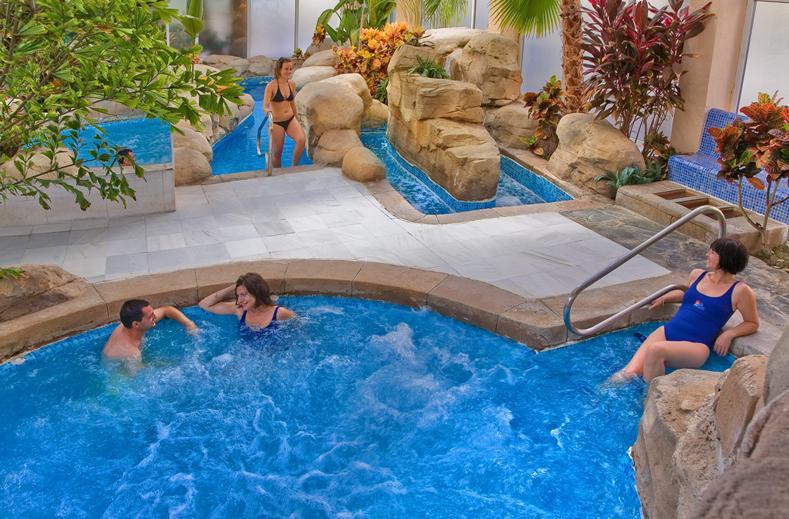 Whirlpool van Playasol Spa in Roquetas de Mar, Spanje
