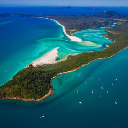 Whitsundays Islands in Australië