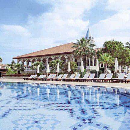 Zwembad van SPLASHWORLD Ali Bey Park Resort in Side, Turkije