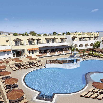 Zwembad van Gaia Village Hotel in Tigaki, Kos