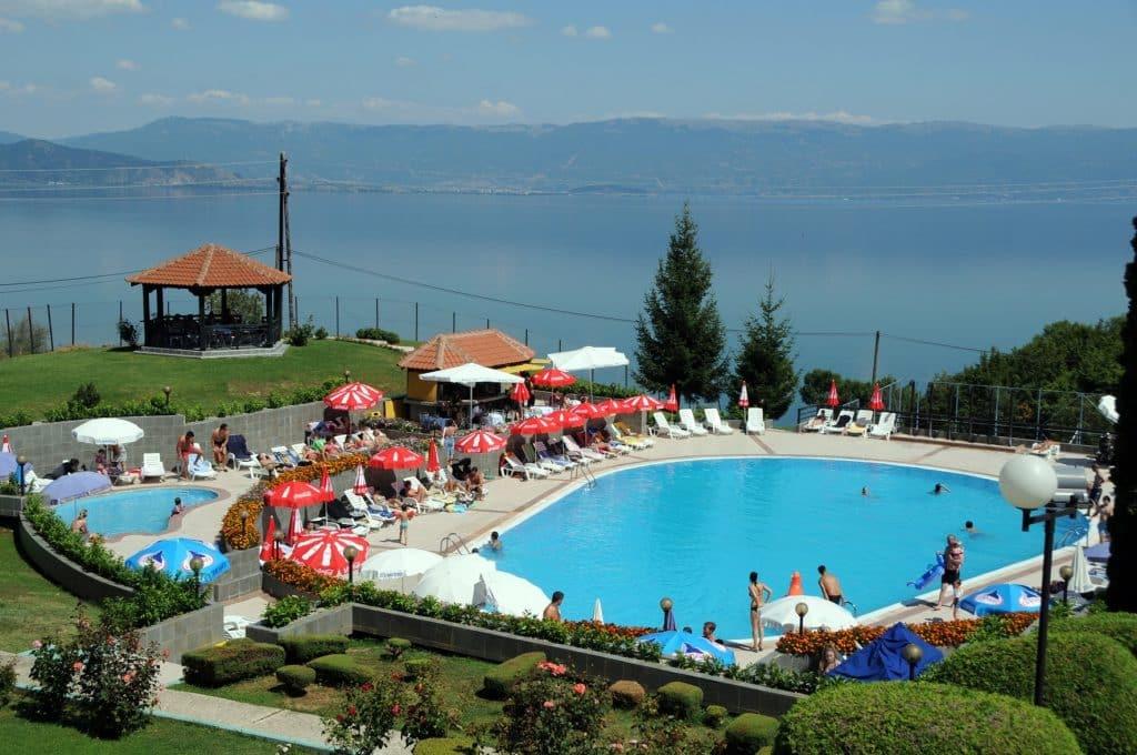 Ligging van Makpetrol Hotel in Struga, Macedonië