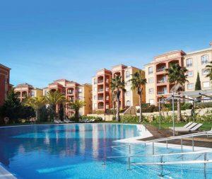 Zwembad van Marble Ama Andalucia in Islantilla, Costa de la Luz, Spanje