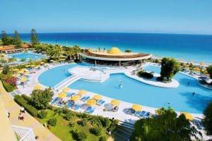Zwembad van Sunshine Vacation Club in Trianda (Ialyssos), Rhodos