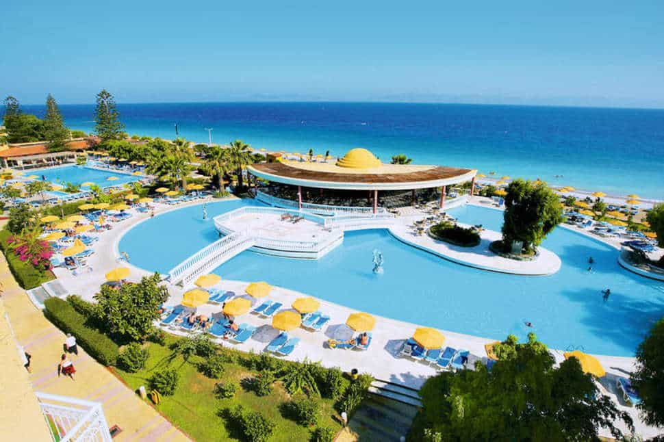 Zwembad van Sunshine Vacation Club in Trianda (Ialyssos), Rhodos