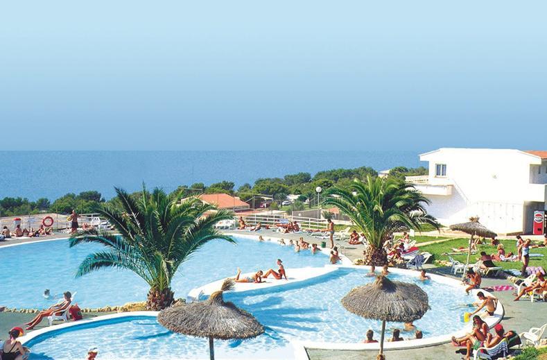 Zwembad met uitzicht op zee van Sun Club El Dorado in El Dorado, Mallorca