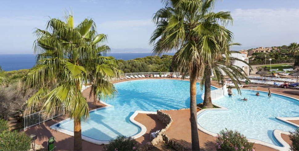 Zwembaden van Sun Club El Dorado in El Dorado, Mallorca
