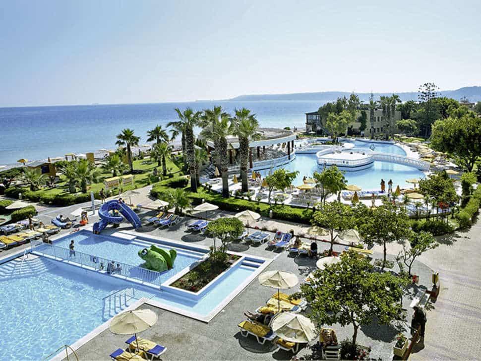 Zwembaden van Sunshine Vacation Club in Trianda (Ialyssos), Rhodos