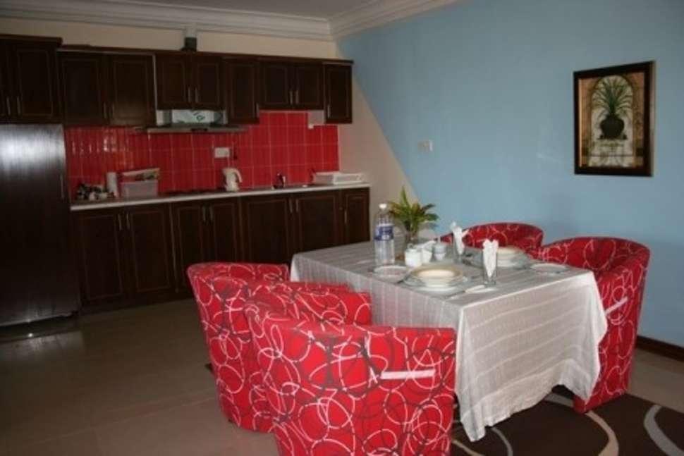 Appartement van Calabash appartementen in Kotu, Gambia