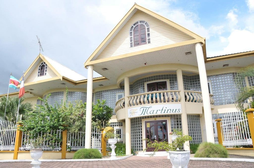 Appartementencomplex Martinus in Paramaribo, Suriname