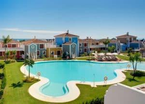 Cortijo del Mar Resort in Estepona, Costa del Sol, Spanje