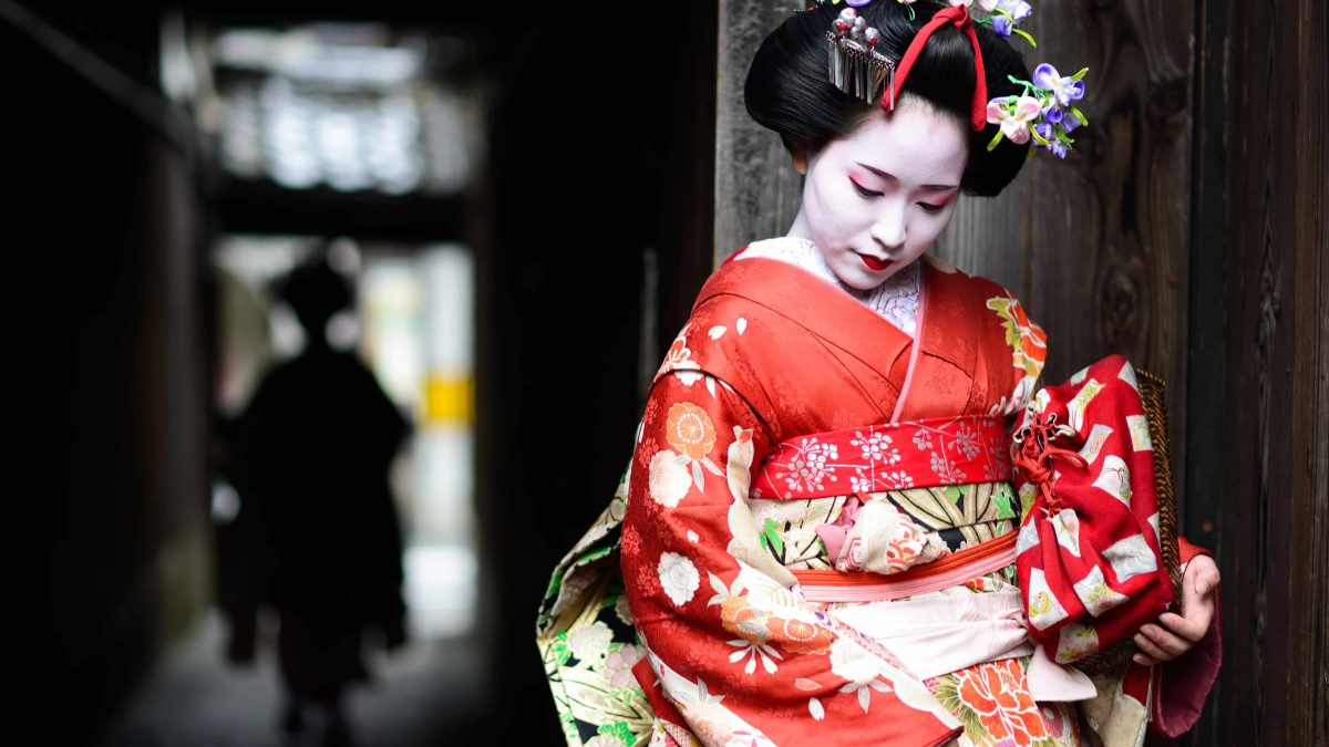 Geisha in Kioto, Japan
