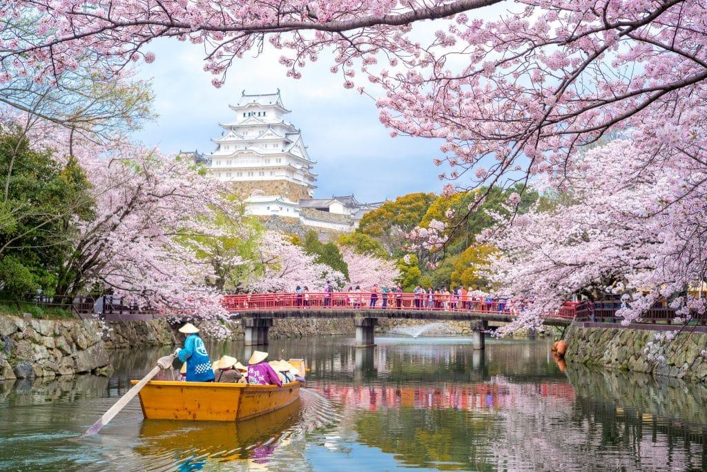 Himeji kasteel in Hyogo, Japan