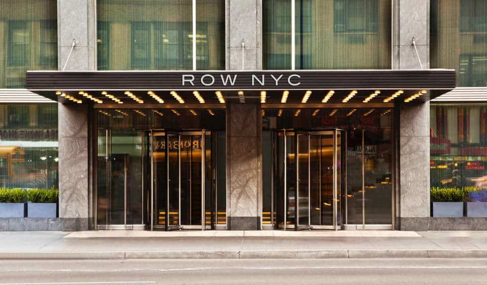 Hotel Row NYC in New York, Verenigde Staten