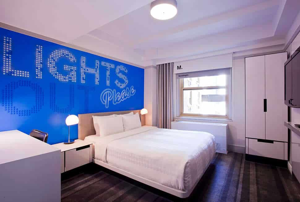 hotelkamer Hotel Row NYC in New York, Verenigde Staten