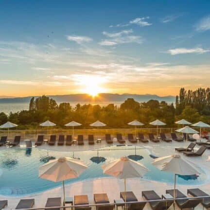 Laki Hotel & Spa in Ohrid, Macedonië