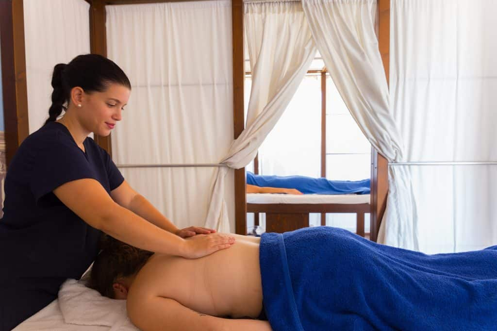Massage van Hotel Rethymno Mare Royal Resort in Rethymnon, Kreta
