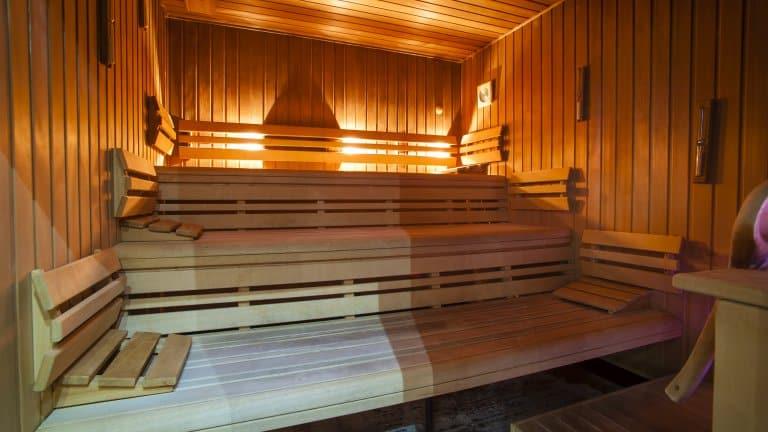 Sauna van Grand Hotel Ter Duin in Burgh-Haamstede, Zeeland