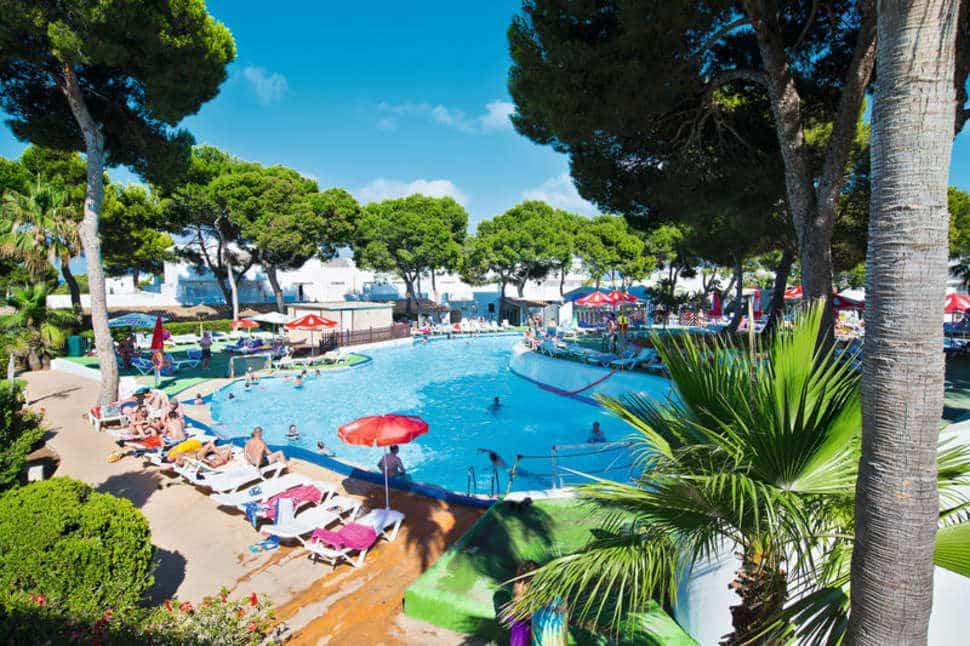 Zwembad van Hotel Es Talaial in Cala d'Or, Mallorca