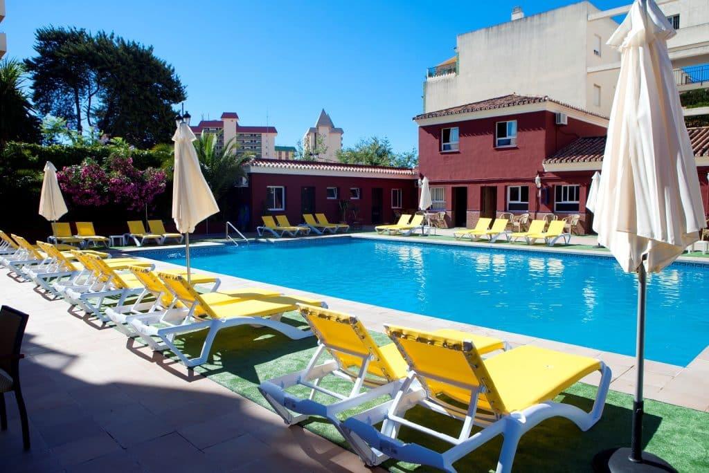 Zwembad Hotel Itaca Fuengirola in Spanje