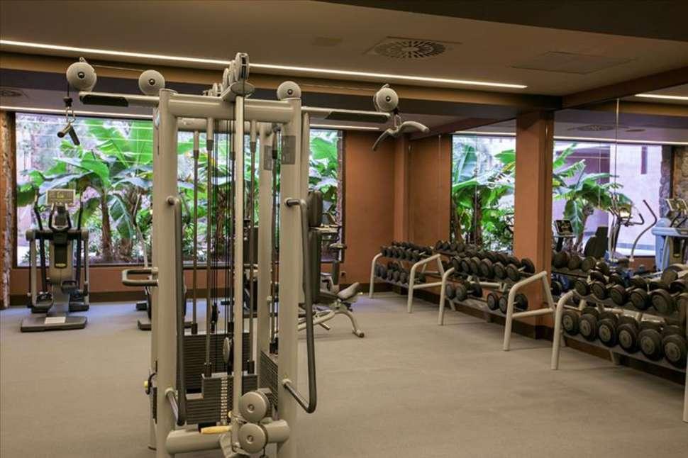 Fitnessruimte van Lopesan Baobab Resort in Maspalomas, Gran Canaria
