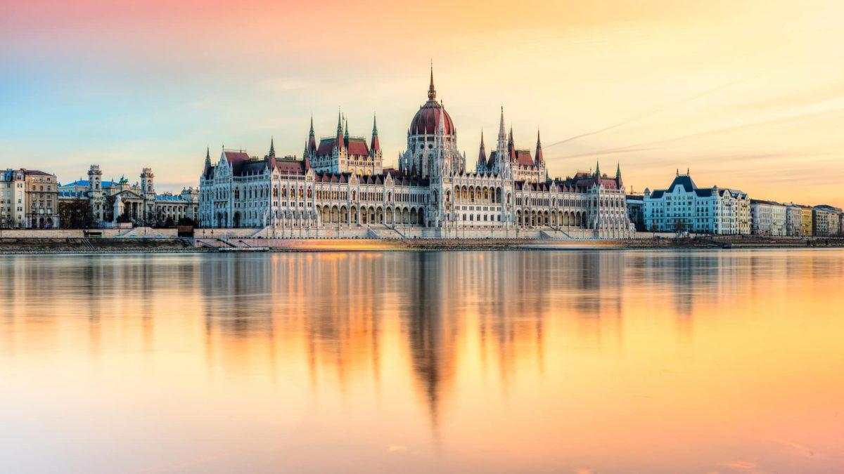 Hongaars parlement in Boedapest, Hongarije