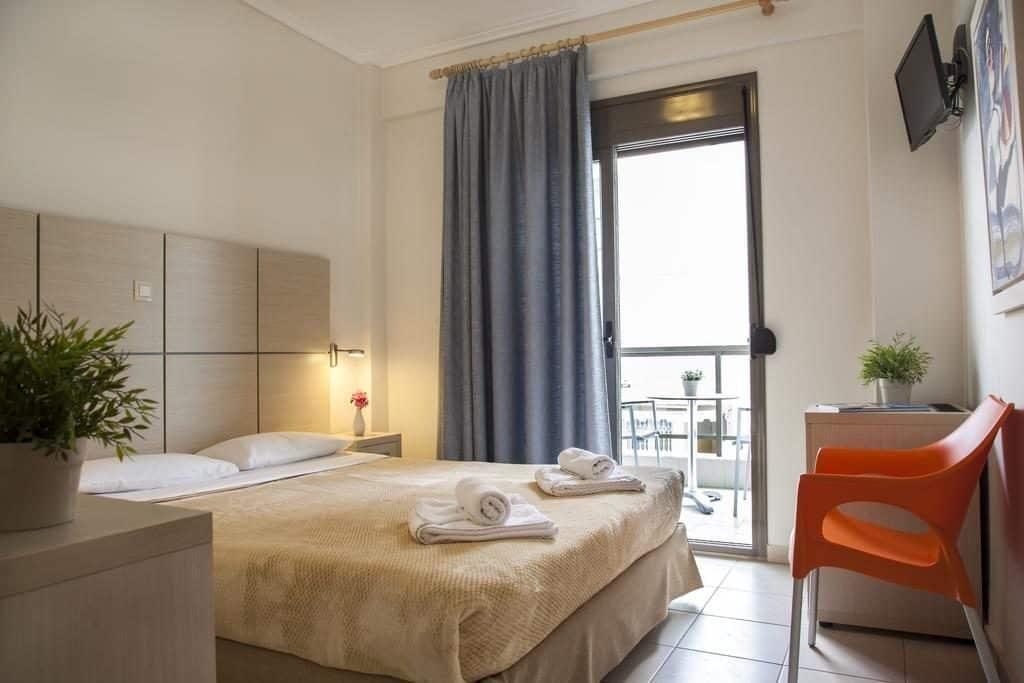 Hotelkamer Hotel Mavridis in Flogita, Griekenland