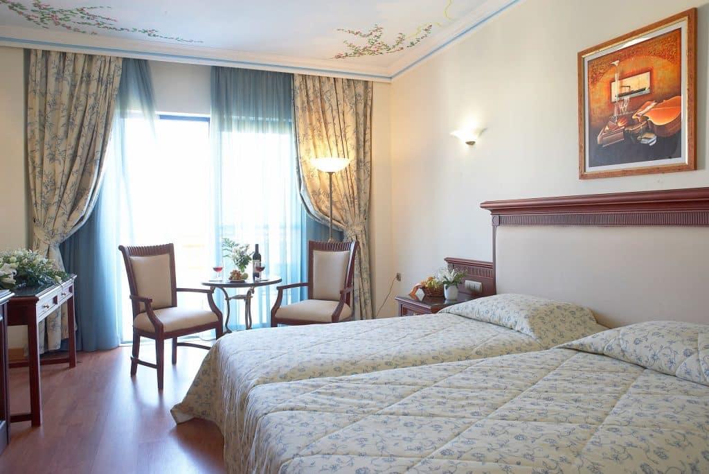 Hotelkamer van Atrium Palace Thalasso Spa in Kiotari, Rhodos