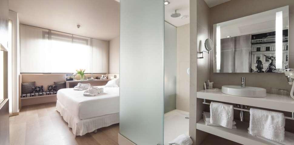Hotelkamer van het Barcelo Praha Hotel in Praag, Tsjechië