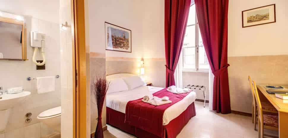 Hotelkamer van Hotel Giotto Flavia in Rome, Italië