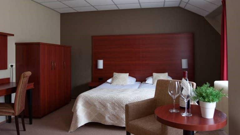 Hotelkamer in Hotel Restaurant Oringer Marke in Odoorn, Drenthe