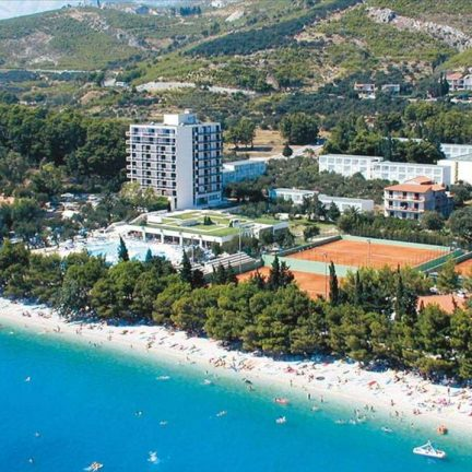 Ligging Smartline Bluesun Neptun in Dubrovnik, Kroatië