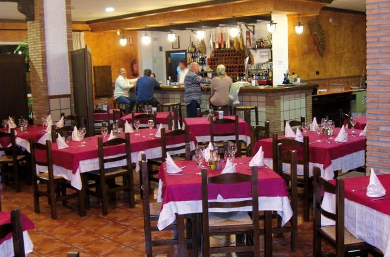 Restaurant Appartementen Maracay in Roquetas de Mar, Spanje