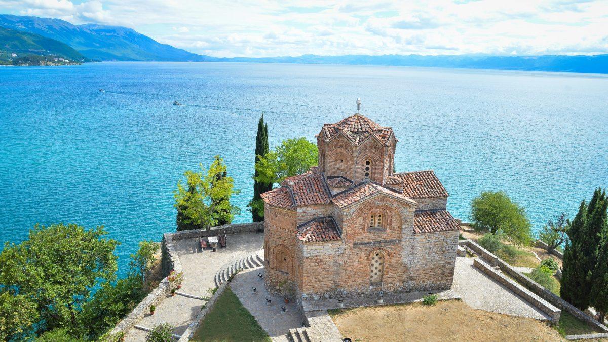 Sint Jovan Kaneo Kerk, Ohrid