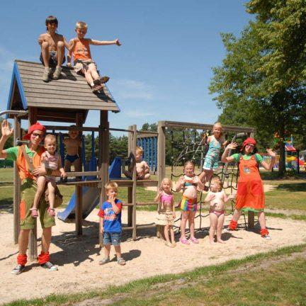 Speeltuin van vakantiepark de Westerbergen in Echten, Drenthe