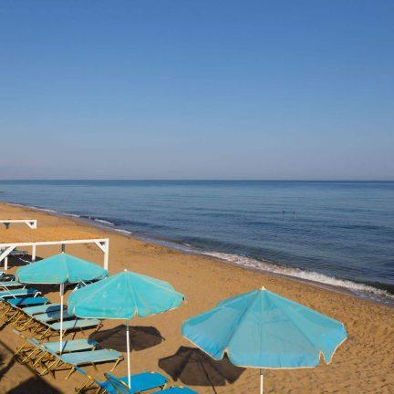 Strand Rethymno Mare in Rethymno, Kreta
