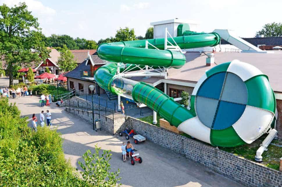 Subtropisch zwemparadijs van Marveld Recreatie in Groenlo, Gelderland