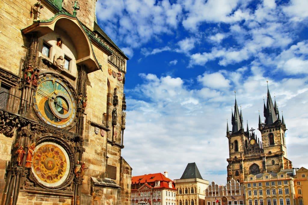 Astronomisch uurwerk in Praag, Tsjechie