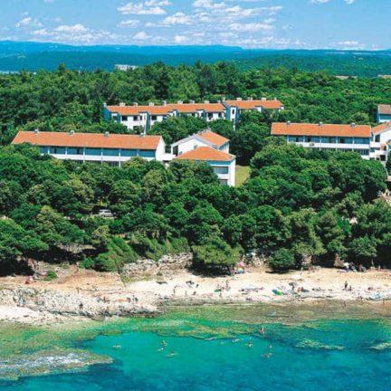 Appartementen Laterna in Porec, Kroatië