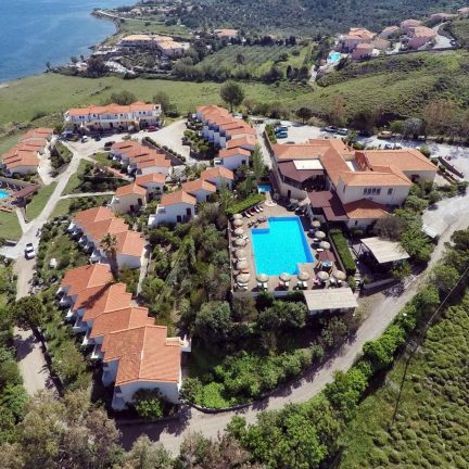 Belverdere Hotel Lesbos in Molyvos, Lesbos