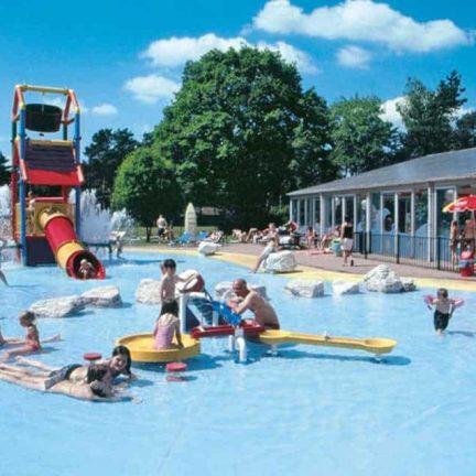 Buitenbad van vakantiepark de Westerbergen in Echten, Drenthe