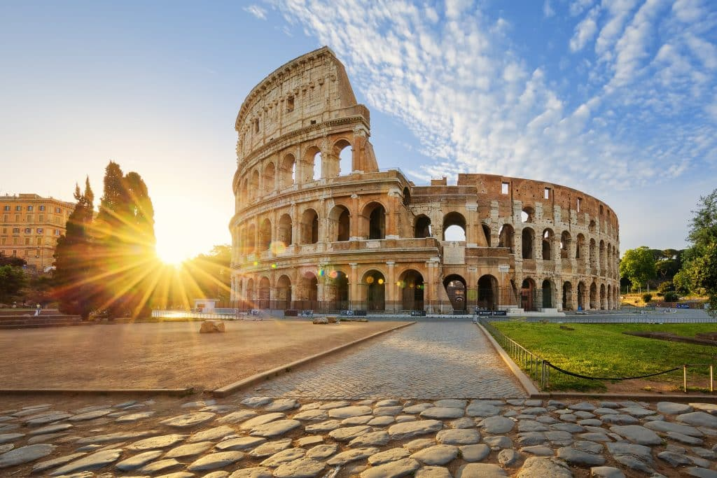 Colosseum in Rome, Italië