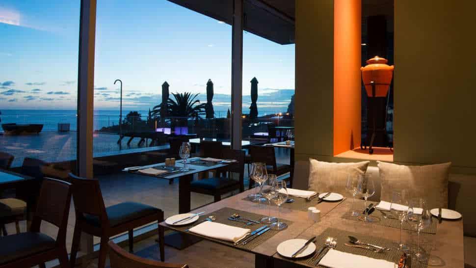 Restaurant van Savoy Saccharum in Calheta, Madeira