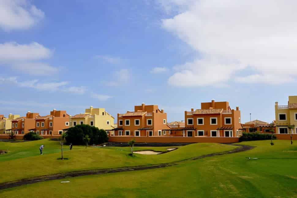 Villa met uitzicht op de golfbaan van Villas Mirador de Lobos