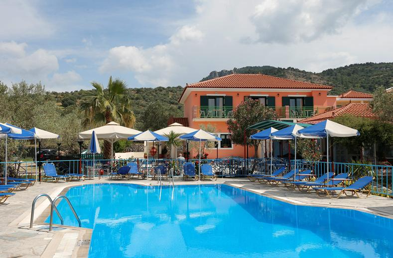 Harris Hotel in Anaxos, Lesbos