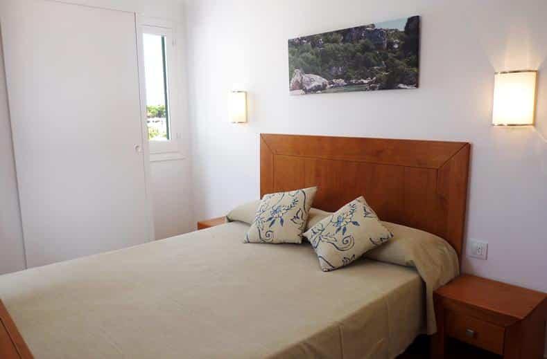 Hotelkamer van Hotel Cales de Ponent in Cala Blanca, Menorca