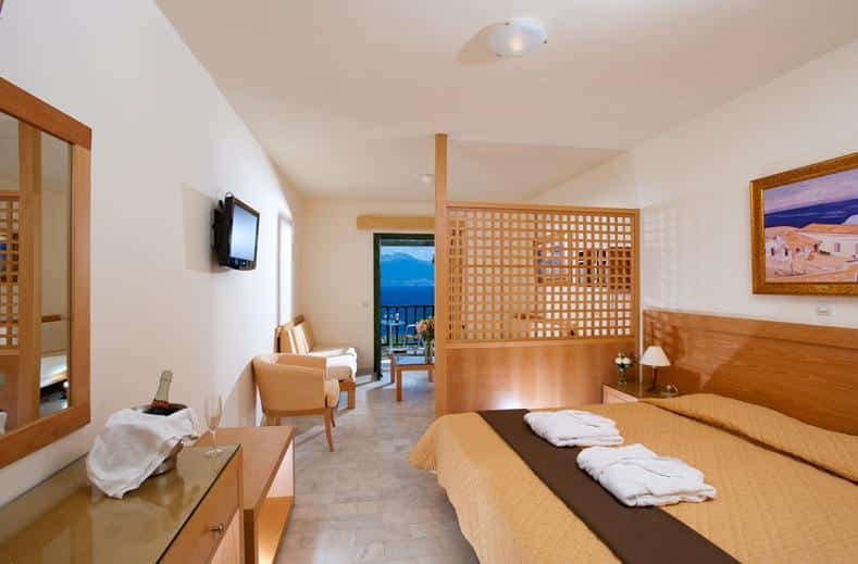 Hotelkamer van Miramare Resort & Spa in Agios Nikolaos, Kreta